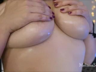 Big Oiled Tits in HD