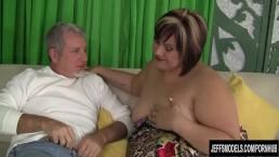 Fatty Bonita takes cock