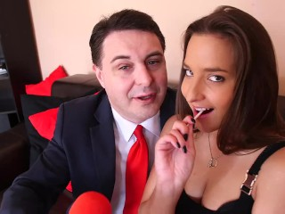 Andrea Dipre' Crazy night in Budapest with Amirah Adara (Full HD)