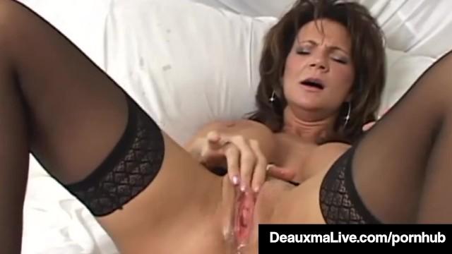 Grand-mère professeur porno