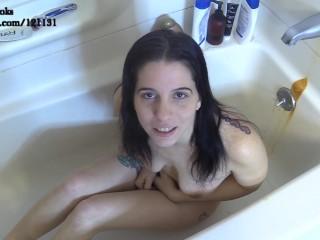 Hot Girl Drinks Piss