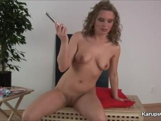 Nikita Schot Fucks Her Pussy With Her Dildo
