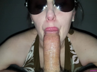 creamy pussy rides oiled cock to oral creampie