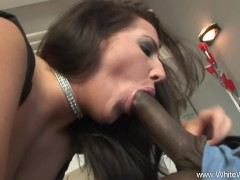White Wifey Does Interracial Sex