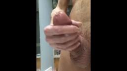 Fat Penis Pumped Cock Drizzles Semen