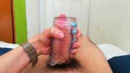 Fucking my fleshlight POV