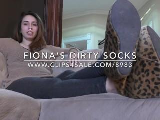 Fiona's Dirty Socks - DreamgirlsClips.com