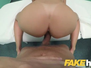 Fake Hospital Californian babe with sexy ass loves hard fucking from doctor