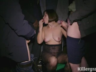 Killergram Jamie Rai on her debut dogging mission covered in cum
