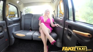 Preview 3 of Fake Taxi Hot tv personality takes it hard in London cab