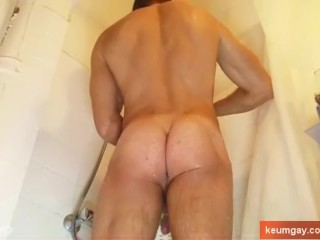 Stefan innocent straight guy serviced his cock by us.