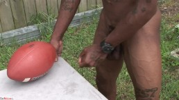 Travis Davis Strokes Dick After Playing Football