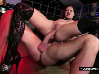 LaSublimeXXX Valentina Canali squirt in intense anal sex
