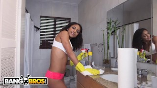 BANGBROS - Young Teen Latina Maid Nicole Bexley Gets Down and Dirty