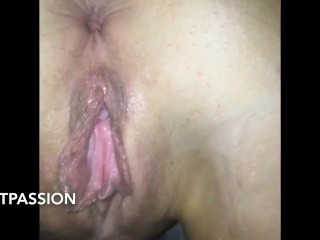 Extremely Creamy Pussy Perfect For A Creampie