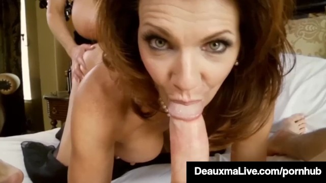 Sexy milf deauxma blindfolds kelly madison amp fucks hubby
