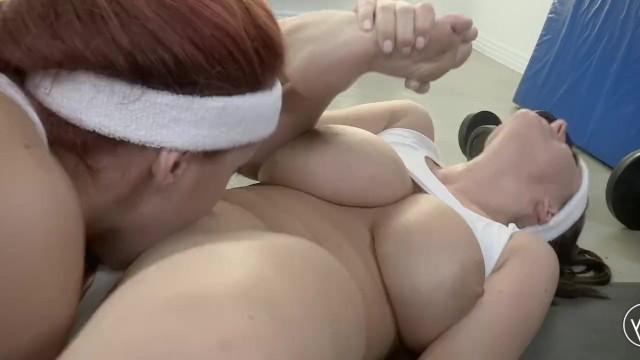 Licking boobs lesbos - Angela white x kelly divine lesbian