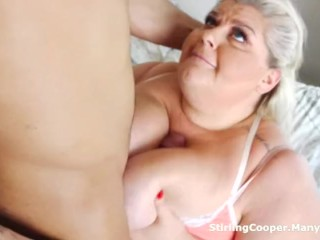 Cheating BBW Housewife Fucks the Lodger