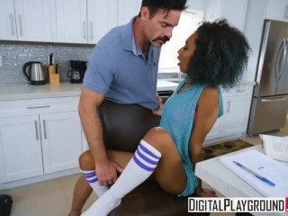 Preview 6 of DigitalPlayground - Milk and Cookies Riley King and Charles Dera