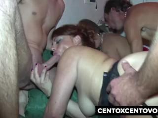 orgia milf párás szex videók