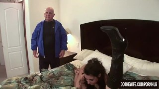 2 wives fucked by stranger