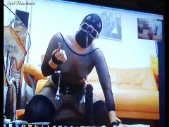 HARDER Torture of a slut slave - Spiel maschinerie's Skype session no.2