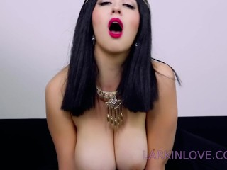 Horny young brunette wet shaved puss