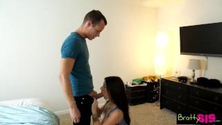 Bratty Sis - Brother Fucks Step Sister Better Than Her Boyfriend S3:E4  lacey channing family sex step siblings point of view big cock squirt blowjob small tits skinny young hardcore brattysis step brother cum shot natural tits step sister
