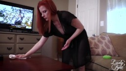 Mommy's Horny Little Boy - Lady Fyre Femdom Virtual Sex