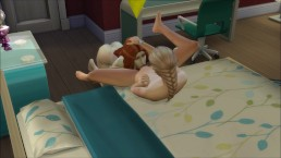 Town slut fucks the neighbors! Eps 1 Sims 4