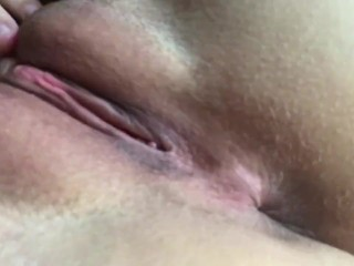 Fingering my pussy and my ass