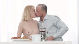 Anal-Angels.com - Via Lasciva - Chilly Winter Walk Turned into Hot Sex Date