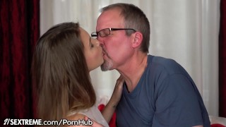 21Sextreme Euro Teen Craves Old Man's Cock