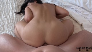 Hot petite squirt and gets fucked in ass with creampie!