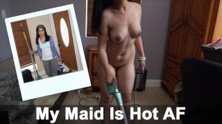 BANGBROS Big Ass and Big Tits Latina Maid Nadia Ali Fucked By J Mac