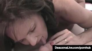 Horny Cougar Deauxma POV Mouth Fucks A Guy & Gets A Cum Bomb
