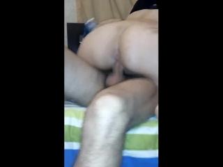 Sexo Casero montando a mi hombre