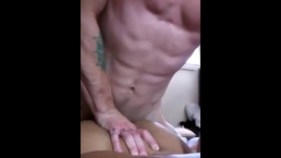 Millennial babe likes my thumb in her ass while she makes me cum twice