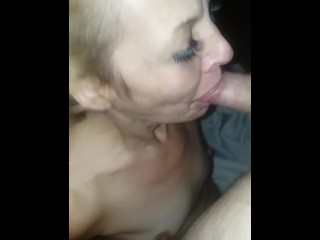 BLONDIE SUPERSOAKED IN MY CUM