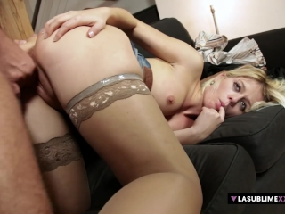 LaSublimeXXX Sweet Cat takes big cock in her pussy for first time