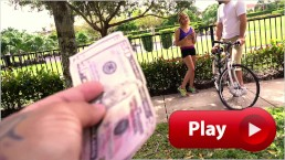 BANGBROS - Young Bicyclist Mila Hendrix Gets Help From The Bang Bus Crew