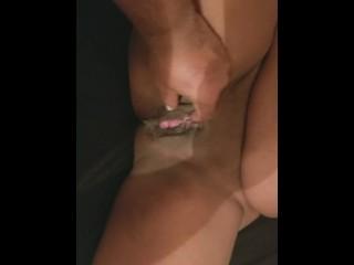 Burgundy knee high stockings foot job scene : from movie 1st foot job 2k18