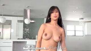 CastingCouch X Busty asian Jade Kush fuck by casting agent