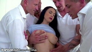 Dad dp all daughter bratty gangbanged by and his friends deep doghousedigital