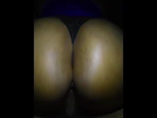Bouncing Her Thick Fat Ass On My Dick