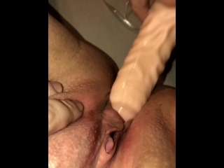 Toy my pussy until I squirt everywhere!