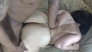 Ot while throats deep hard get's pounded fucks neighbor wife husband's big deep