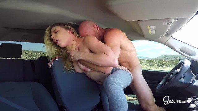 SinsLife - Epic Road Head 3some, Sucking and Fucking in a Truck ...