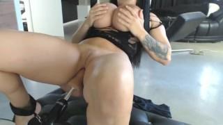 Cock slave machine butt