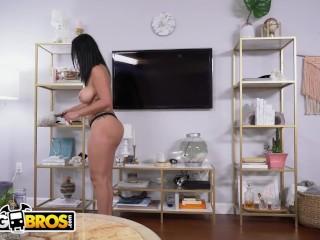 Preview 4 of BANGBROS - Slamming My Hot Cuban Maid Cristal Caraballo's Big Ass